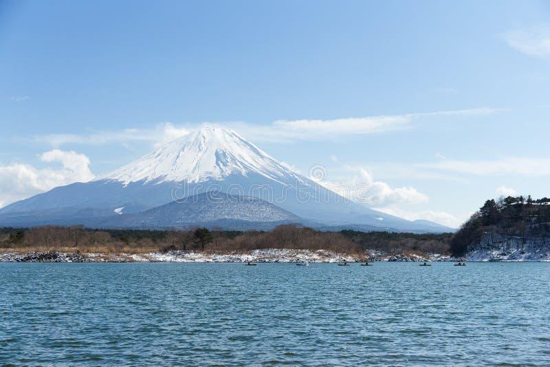 Shoji e Fuji do lago imagens de stock