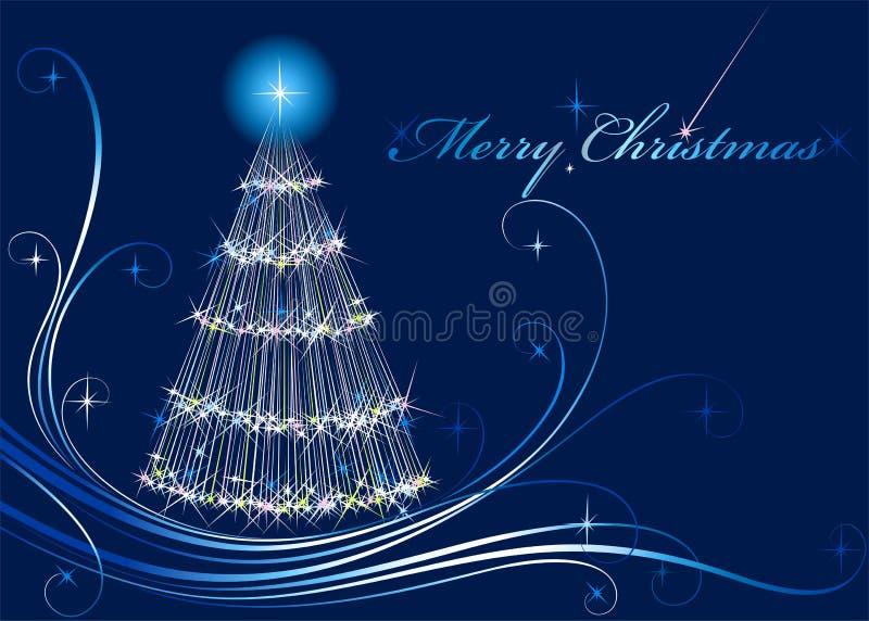 Download Shone Christmas fur-tree stock vector. Illustration of december - 10559190
