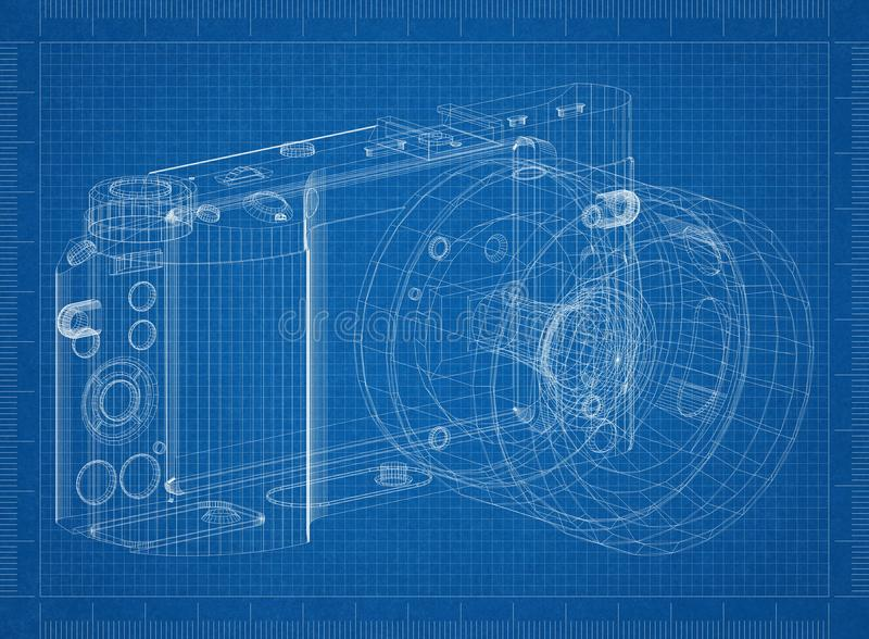 Digital camera architect blueprint stock illustration illustration download digital camera architect blueprint stock illustration illustration of blue design 118469203 malvernweather Choice Image