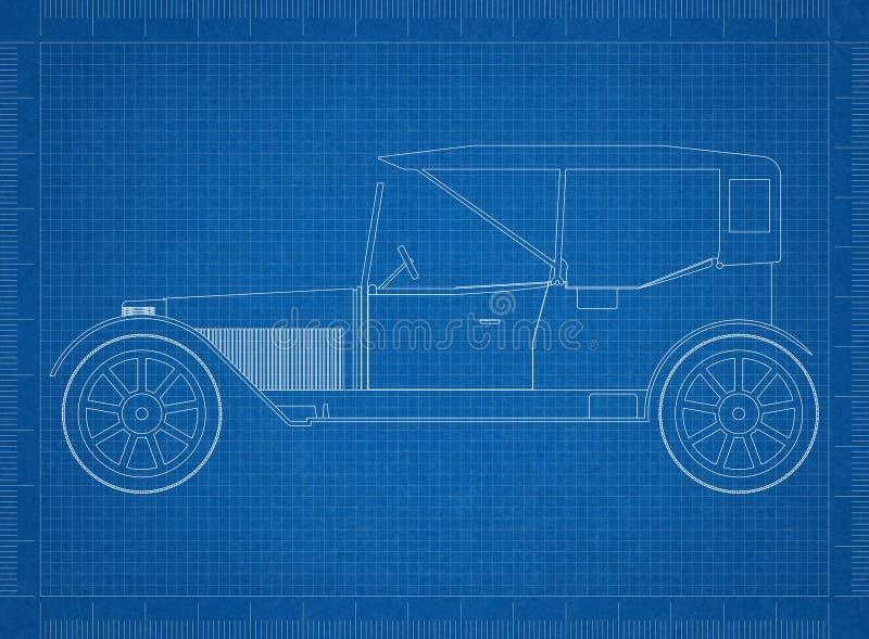 Old car architect blueprint stock illustration illustration of download old car architect blueprint stock illustration illustration of architect draft 117873453 malvernweather Choice Image