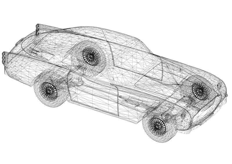 Old car architect blueprint stock illustration illustration of download old car architect blueprint stock illustration illustration of design geometry 118468950 malvernweather Images