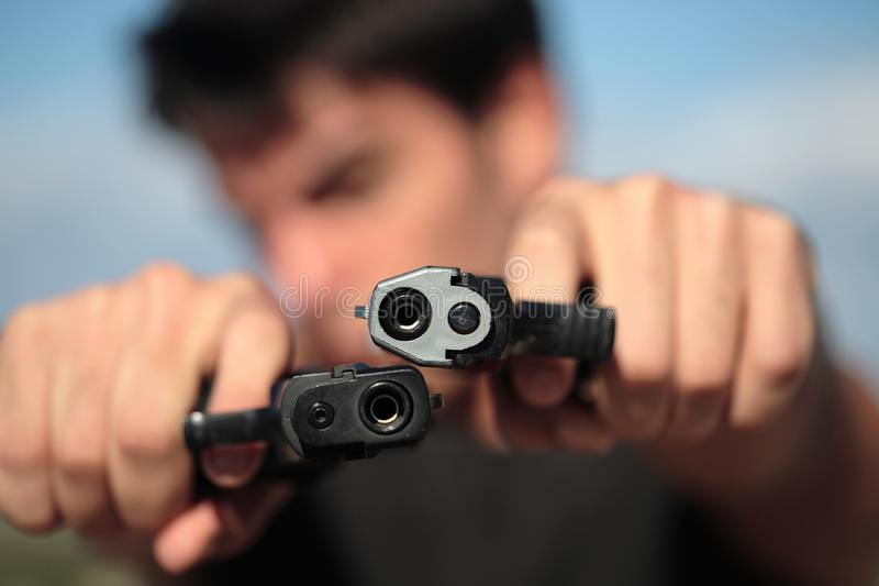 Shooter royalty free stock image