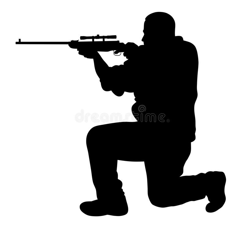 shooter illustrazione di stock