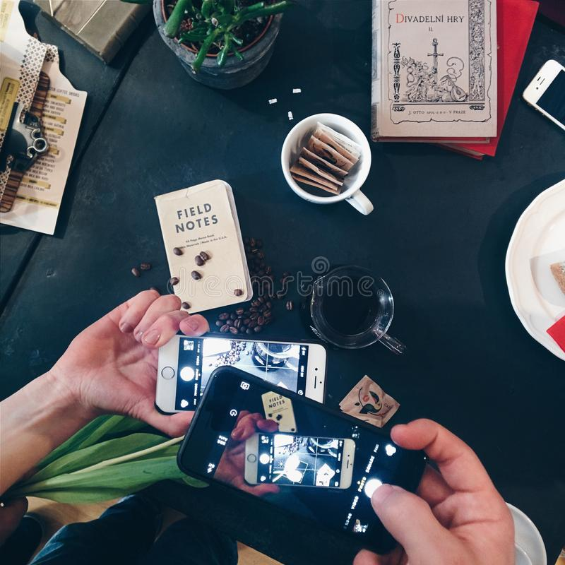 Shooting Coffee With Smartphones Free Public Domain Cc0 Image