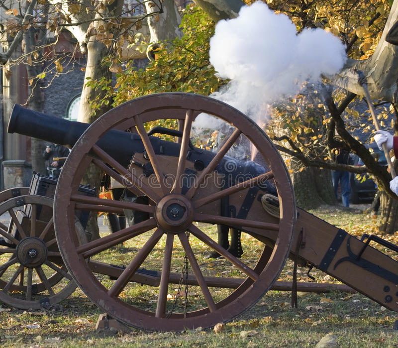 Download Shooting From The Historic Cannon Stock Image - Image: 22140857