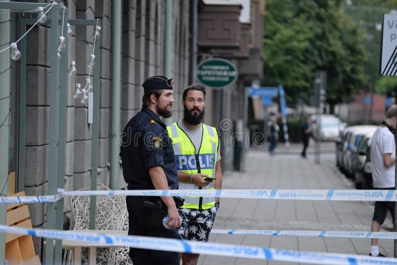 Deadly Shooting In Malmo, Sweden 180618 Editorial Image - Image of ...