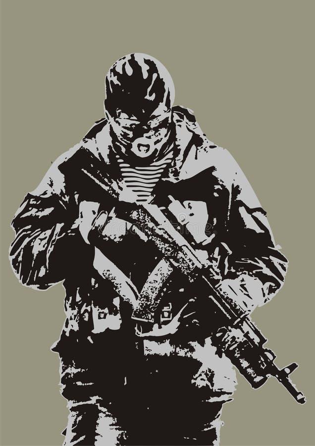 Download Shooting man stock vector. Image of kidnapper, killer - 8175030
