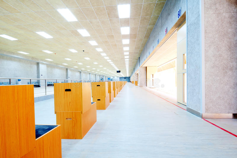 Download Shooting range stock image. Image of ceiling, interior - 21371799