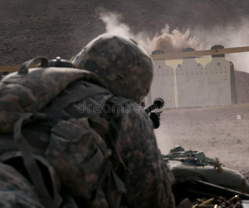 Shooting Range stock photos