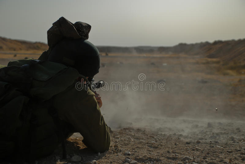 Download Shooting soldier stock photo. Image of person, rifle - 19122794