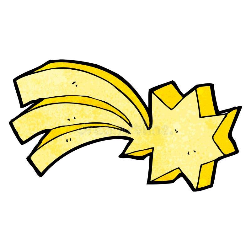Shooting Star Symbol Cartoon Stock Vector Illustration Of Texture