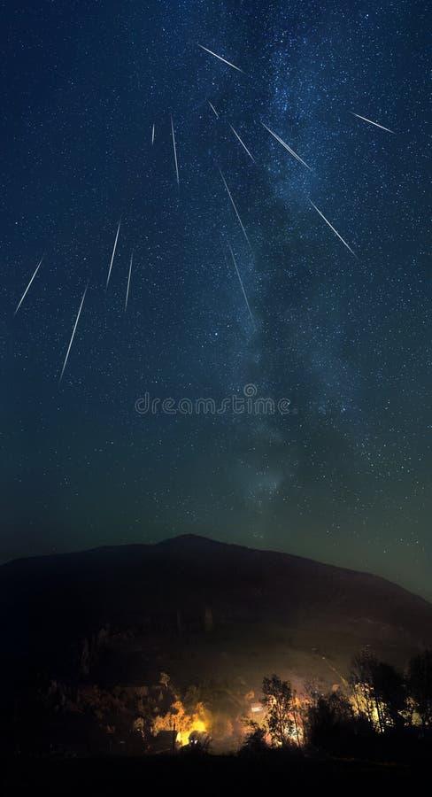 Shooting Stars zdjęcie royalty free