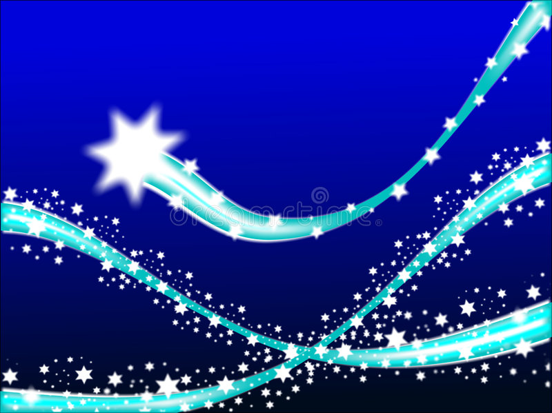 Shooting Stars Background royalty free stock photos