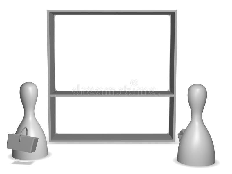 Download Shop stock illustration. Image of option, metaphors, rack - 26512352