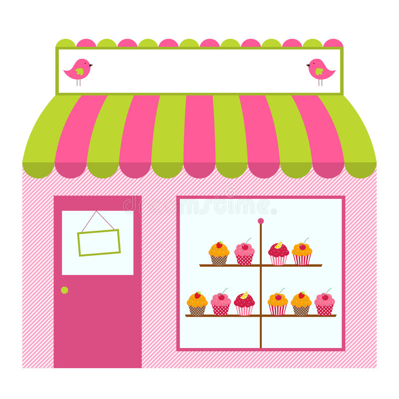 Download Shop or cafe design stock vector. Image of store, vector - 24115663