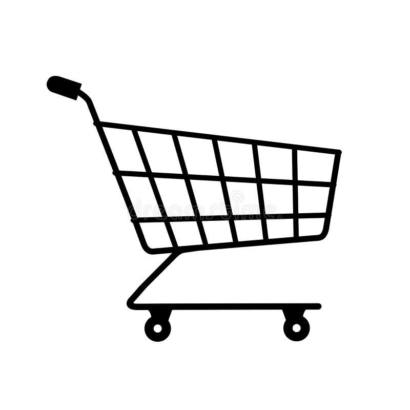 Shop cart icon, buy symbol. Shopping basket icon sign – for stock. Shop cart icon, buy symbol. Shopping basket icon sign – stock vector vector illustration