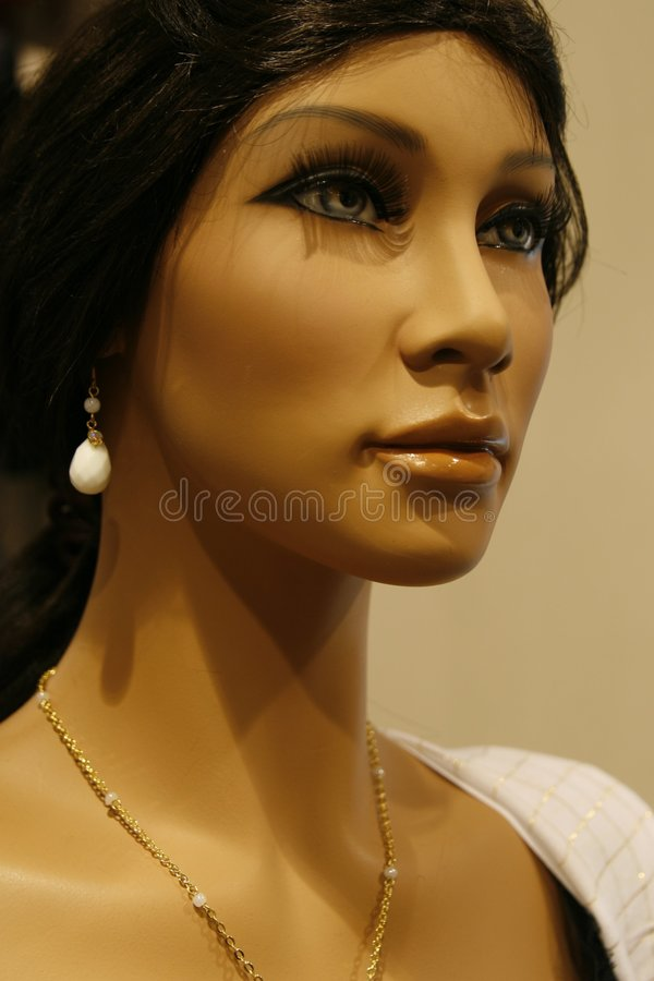 Shop dummy or mannequin royalty free stock photos