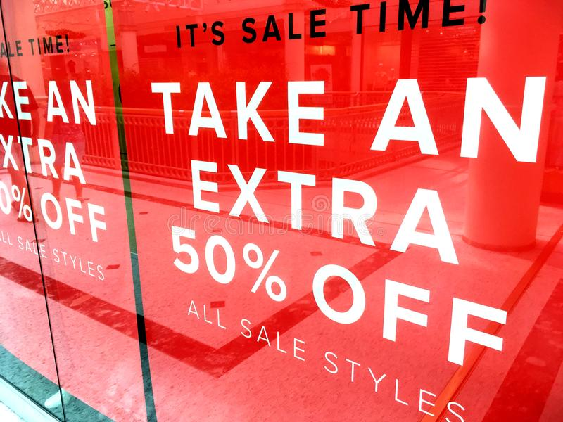 It`s SALE /time banner sign stock photos
