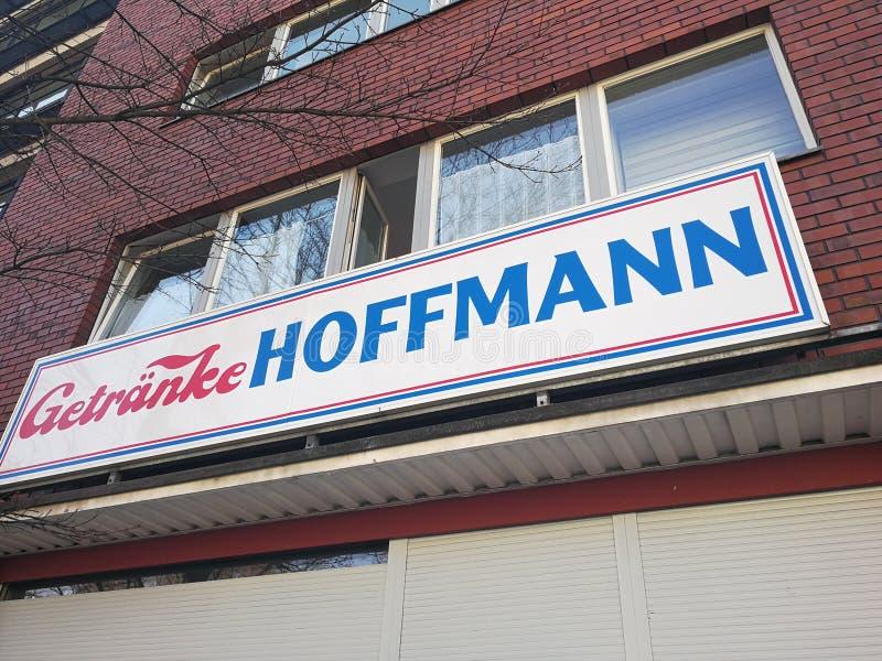 Shop Getranke Hoffmann stockfotografie