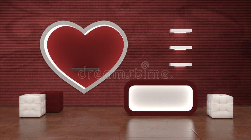 Download Shop Interior Cashier, Studio Or Bar Stock Illustration - Image: 22670638