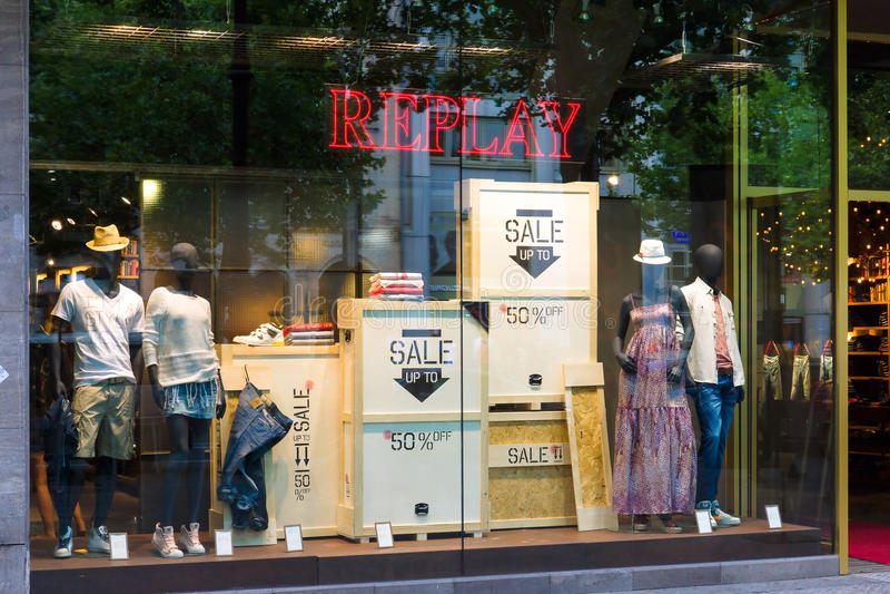 Download Shop For Replay Kurfuerstendamm Editorial Stock Image - Image: 32559309