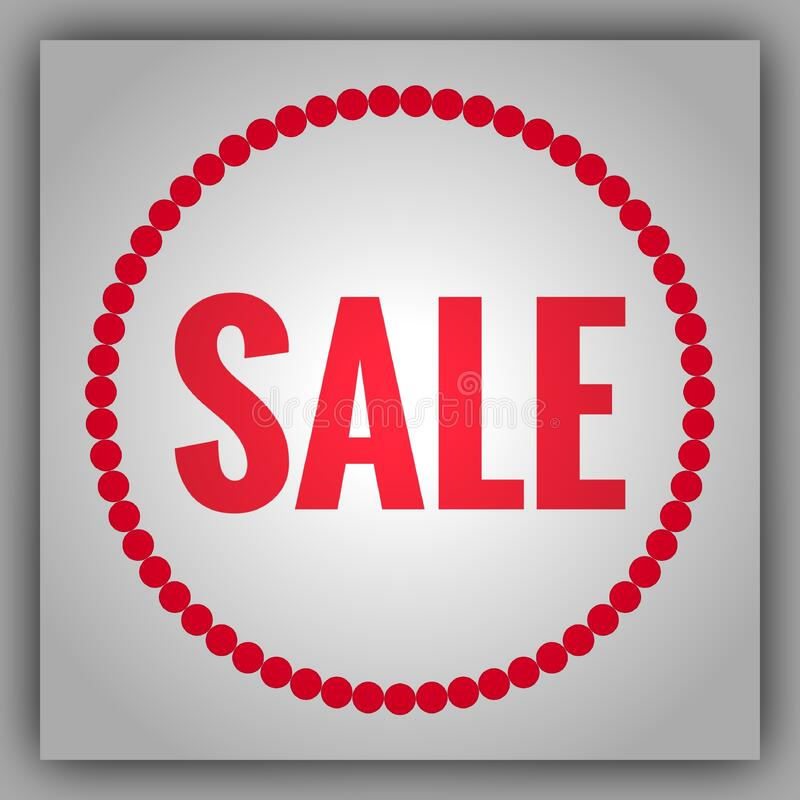 Shop Sale Sign Abstract Background stock images