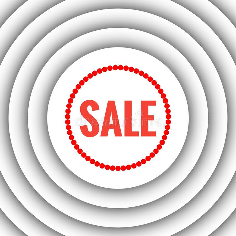 Shop Sale Sign Abstract Background royalty free stock photos