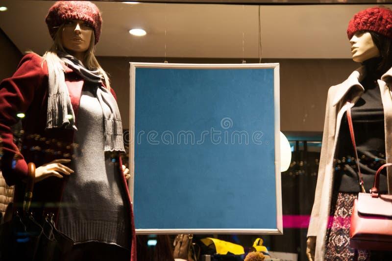 Shop sales blackboard royalty free stock image