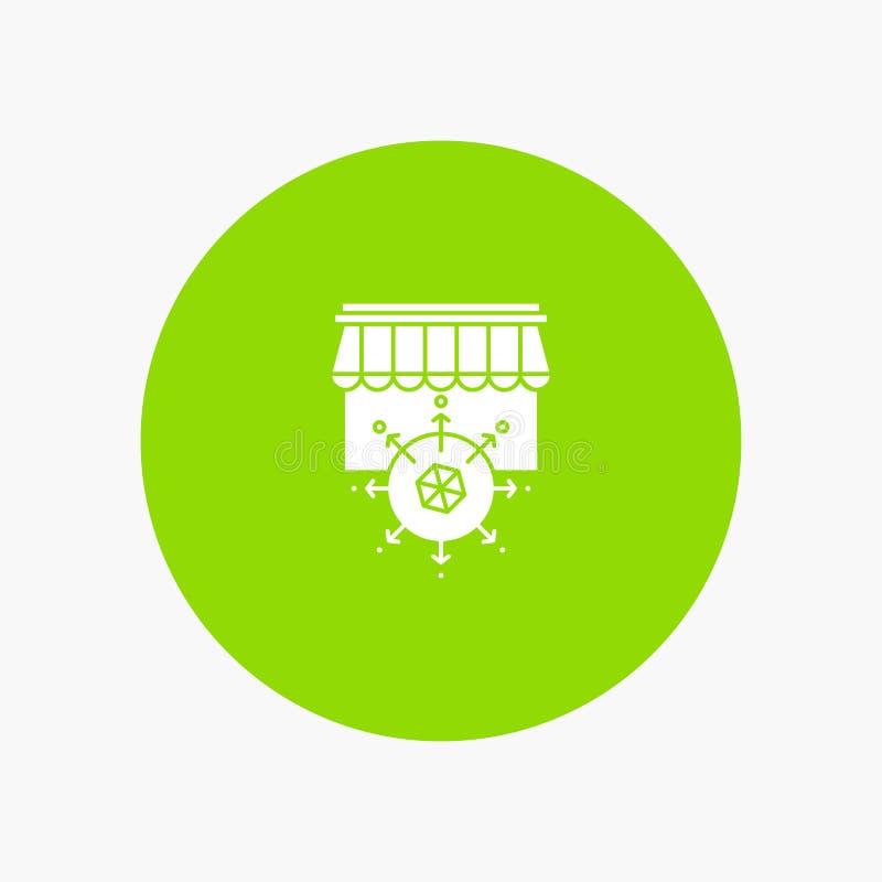 Shop, Shopping, Goal, Business stock illustration