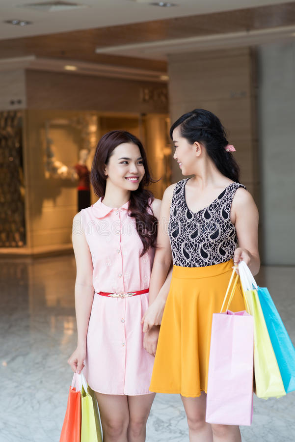 Download Shop visit stock photo. Image of asian, purchase, pair - 28055074