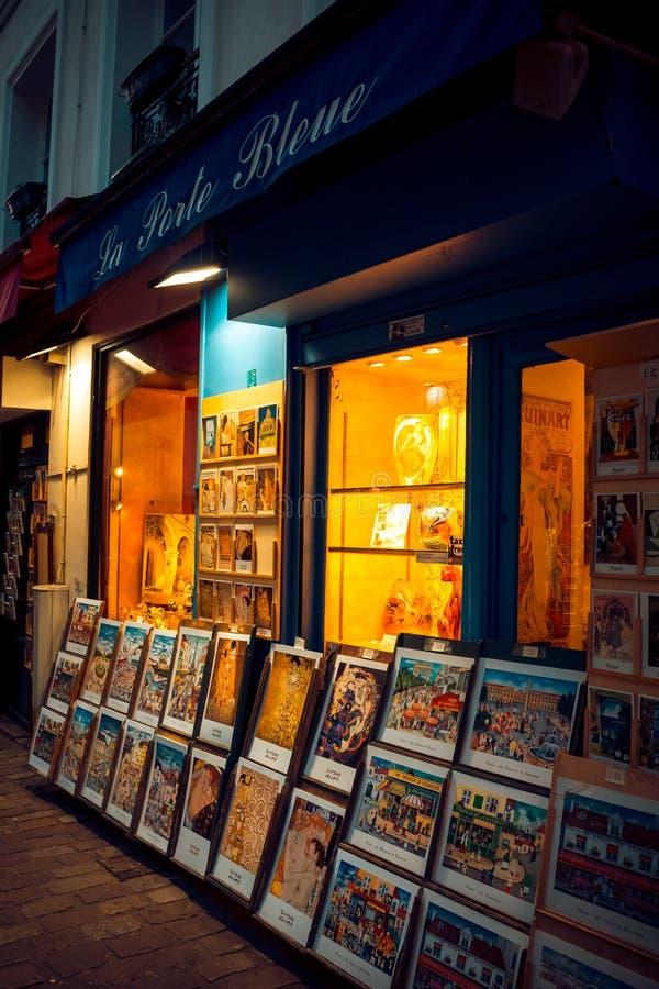 Shop von Malereien lizenzfreie stockfotos