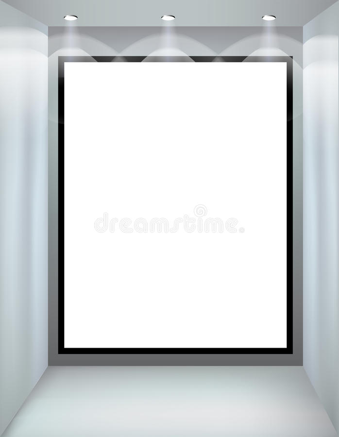 Free Shop Window. Vector Illustration. Royalty Free Stock Images - 26480699