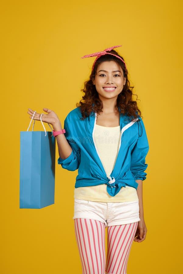 Shopaholic photo stock