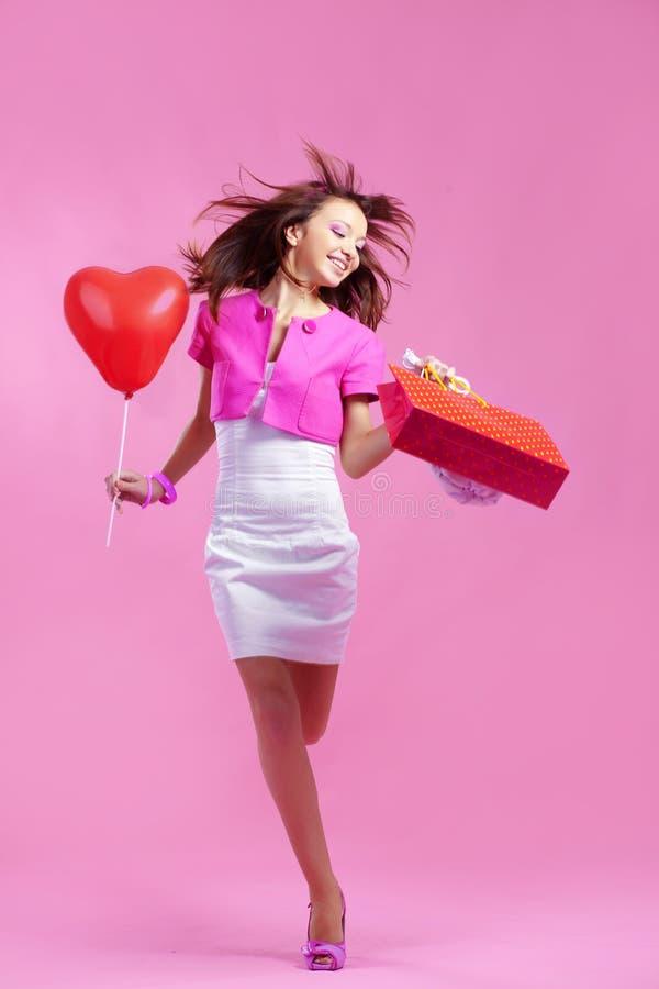 Shopaholic immagini stock