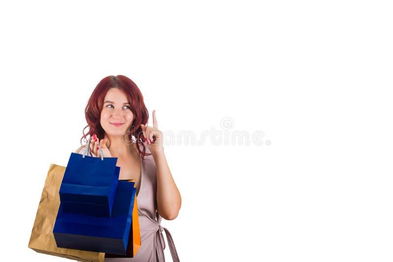 Shopaholic image stock