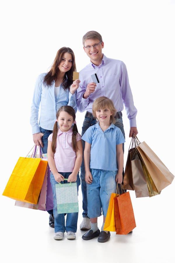 Shopaholic photos libres de droits
