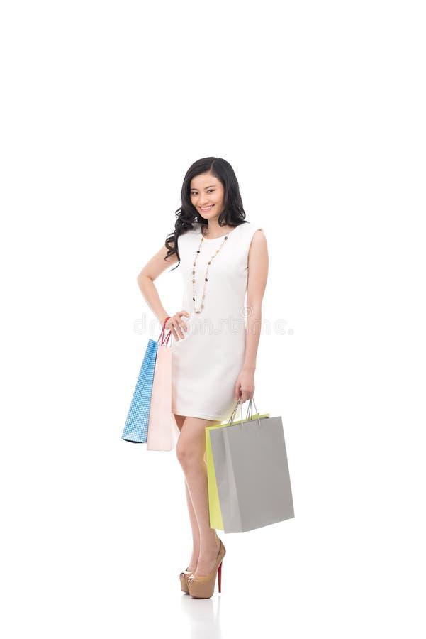 Download Shopaholic стоковое изображение. изображение насчитывающей жизнерадостно - 40590339