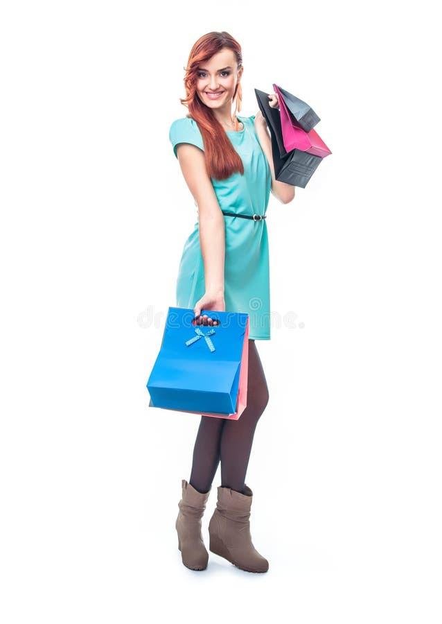 shopaholic zdjęcie stock