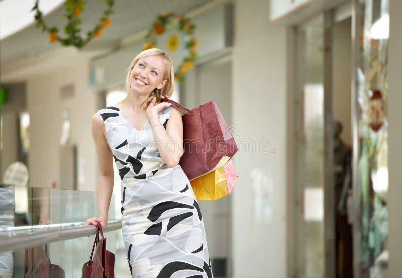 Shopaholic photographie stock libre de droits