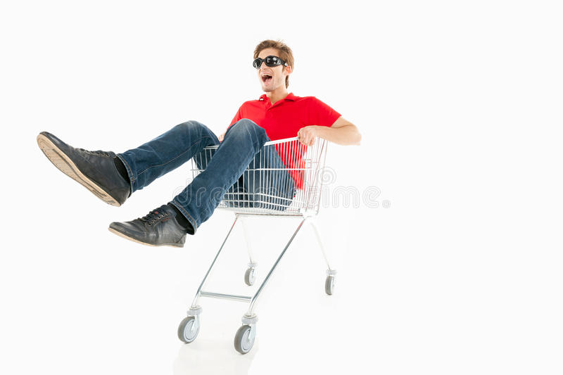 Download Shopaholic. stock image. Image of expressing, casual - 33969137