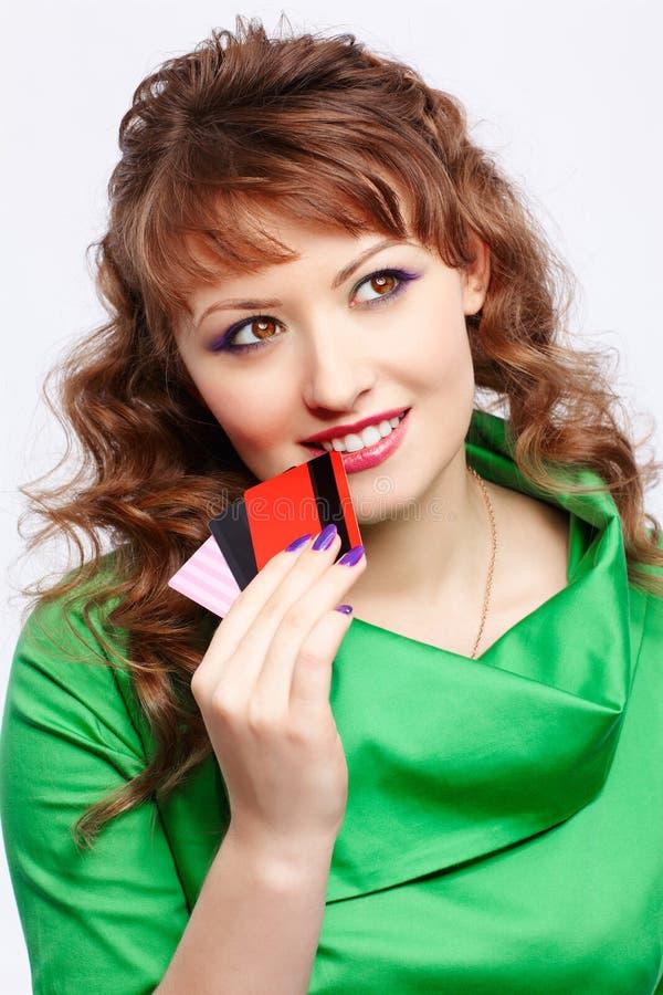 Download Shopaholic woman stock image. Image of european, gorgeous - 20793381