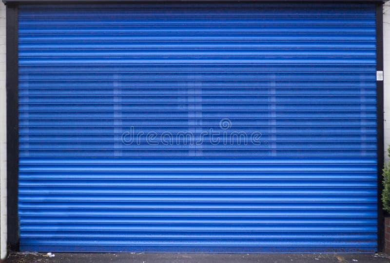 Shopfensterläden stockfoto