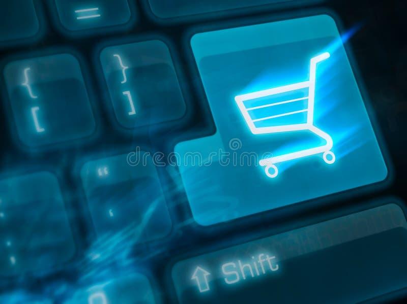 shoping重要的关键字 免版税库存图片
