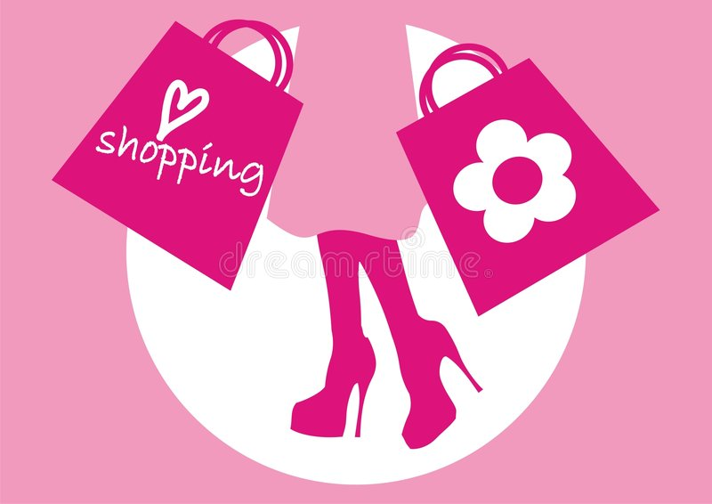 Download Shoping stock illustration. Image of body, holyday, graphic - 7991869