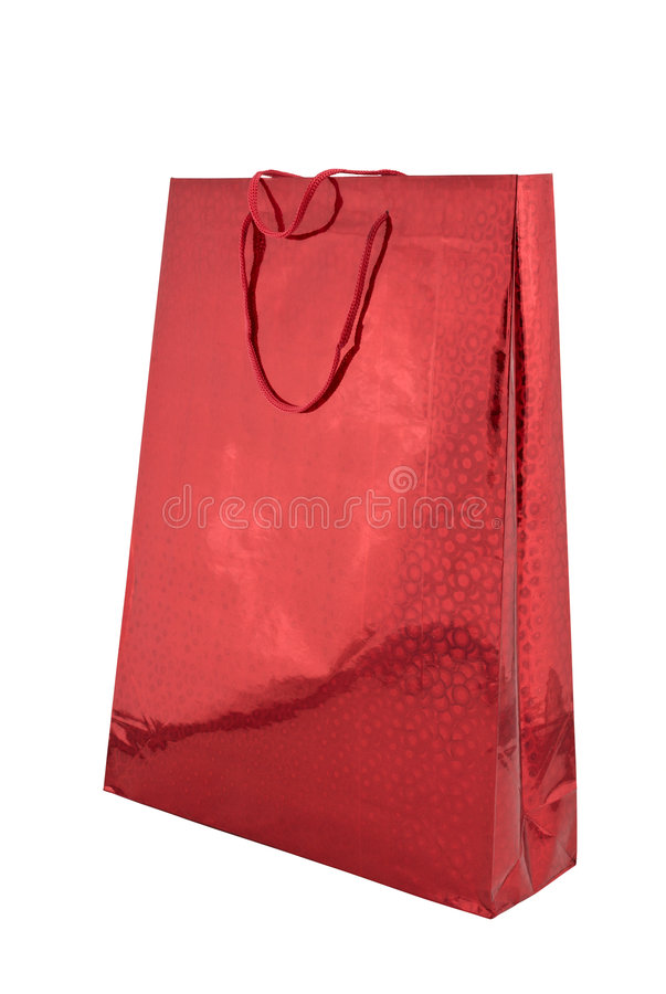 Shoping bag stock photo