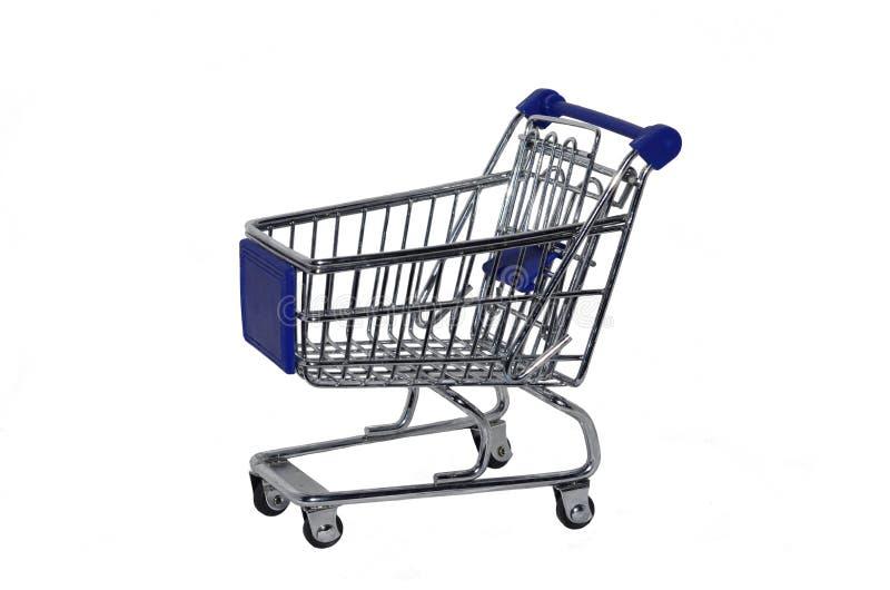 Shopingcart royalty-vrije stock afbeelding
