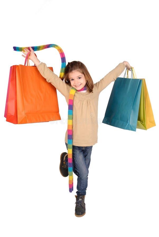 Shoppa royaltyfri foto