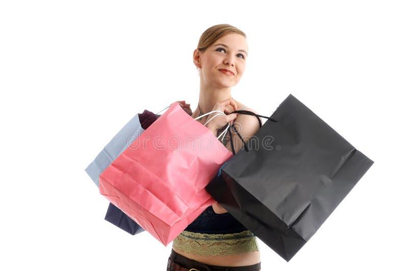 shoppa arkivfoton
