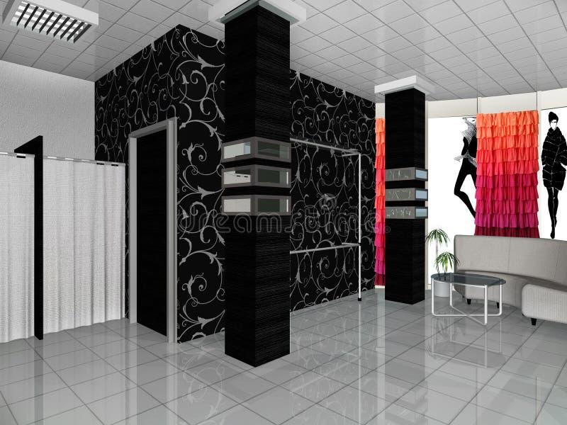 Shoppa boutique royaltyfri fotografi