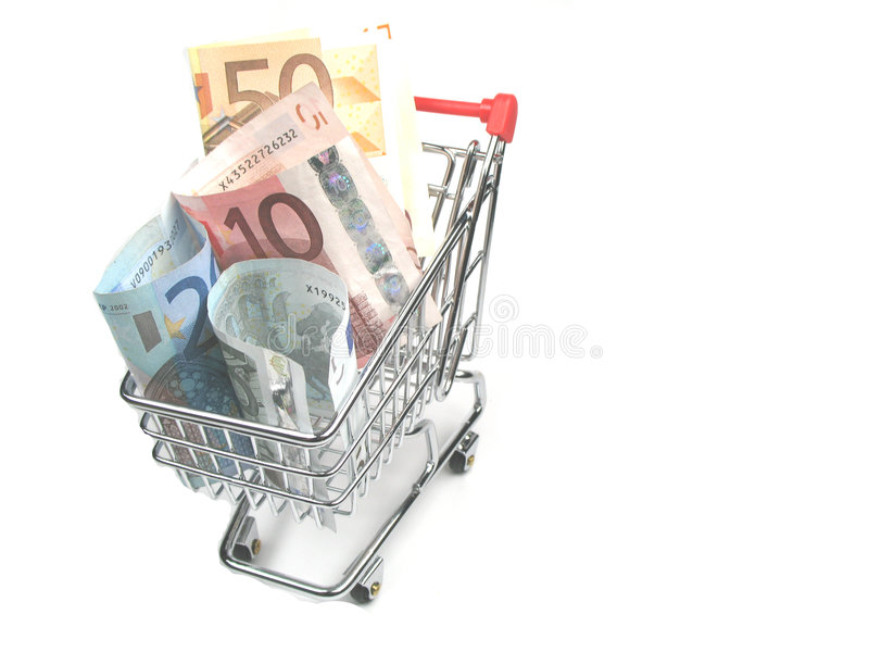 shoppa för kostnader fotografering för bildbyråer
